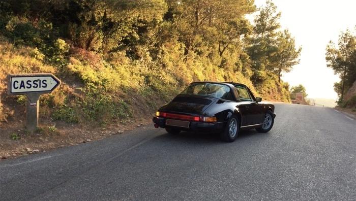 Porsche Targa Cassis